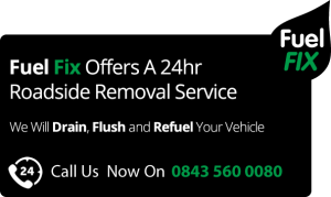 Fuel Fix wrong fuel removal roadside service