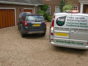 Fuel Fix van